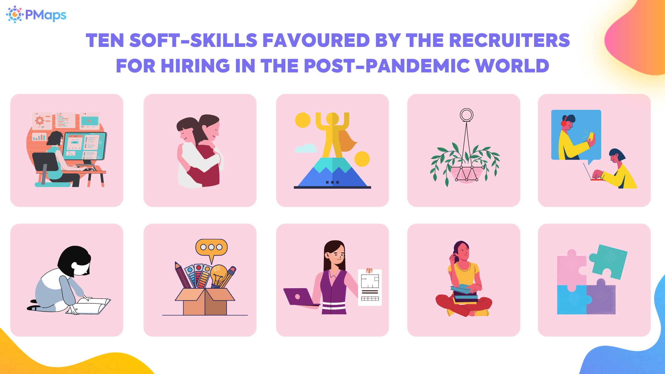 Ten Soft-Skills favoured by the Recruiters for hiring in the Post-Pandemic World